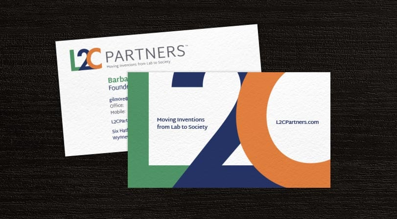 L2C Partners Business Card Design