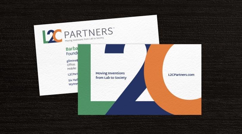 L2C Partners Business Card Design