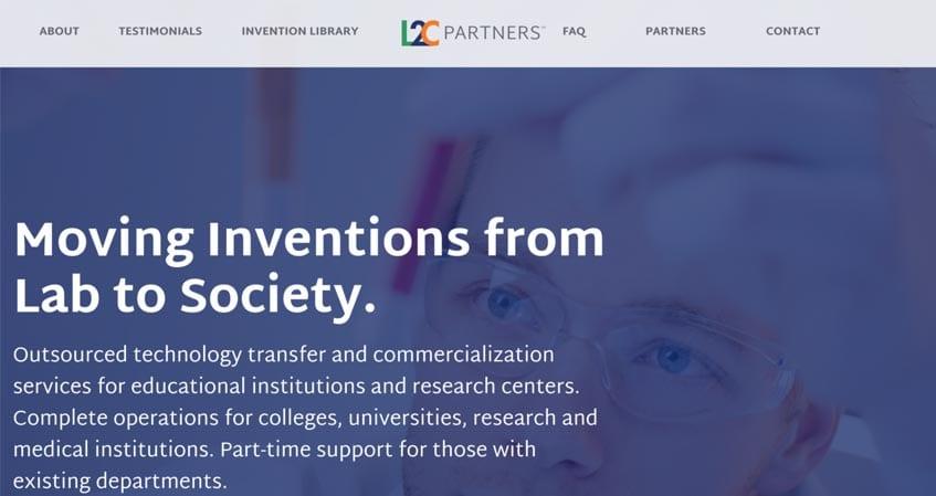 L2C Partners Website Design and Construction