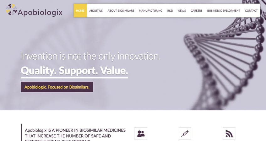 Apobiologix Home Page