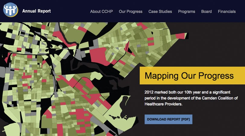 CCHP Annual Report Home Page