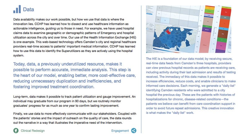 CCHP Annual Report Interior Page