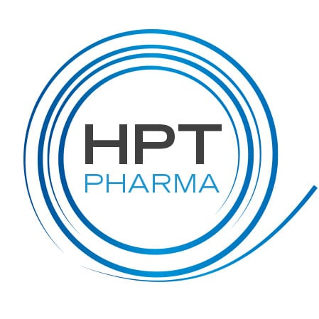 HPT Pharma Logo Design