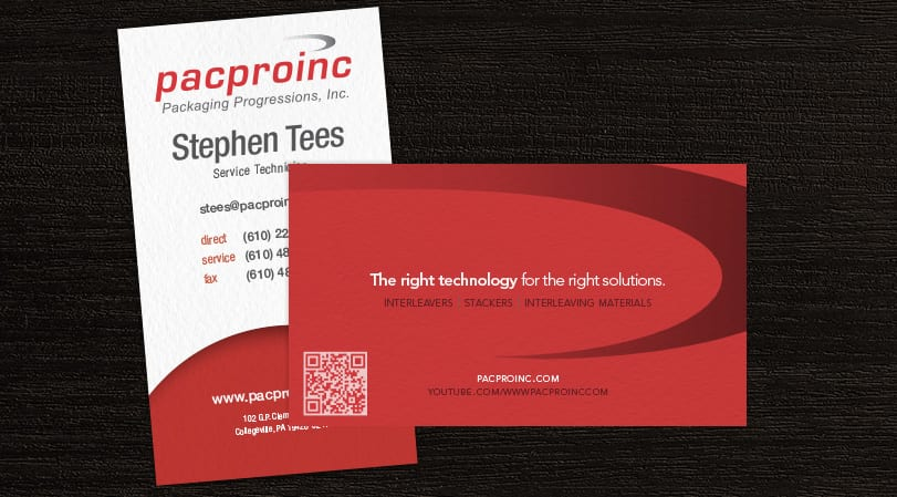 Pacproinc Business Cards