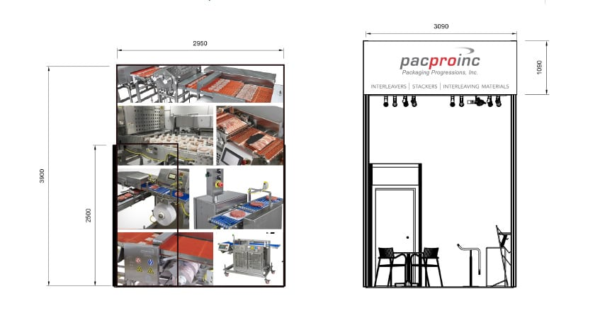 Pacproinc Trade Show Designs