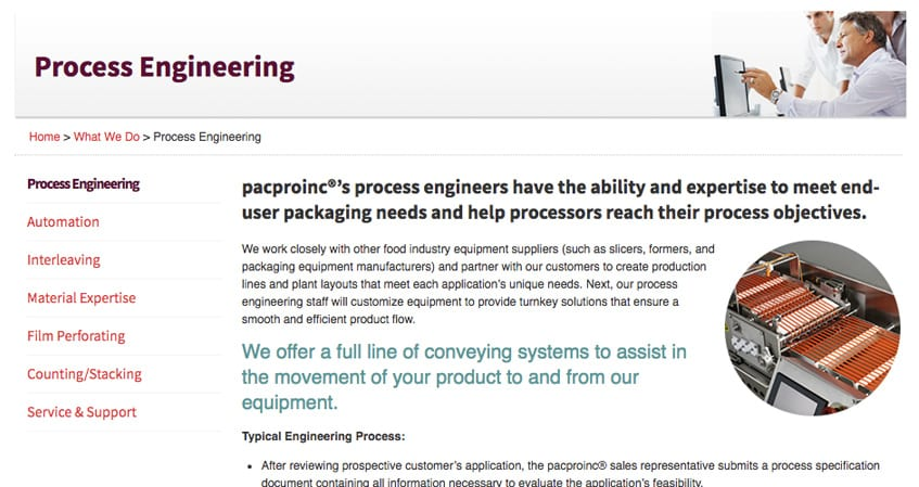 Pacproinc Interior Page