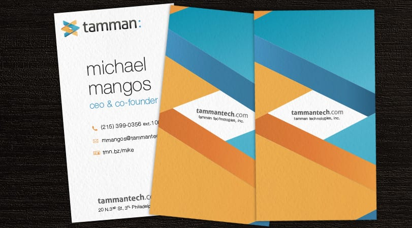 Tamman Business Cards