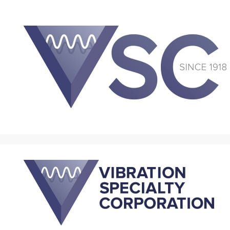 Vibration Specialty Corporation Logo Design