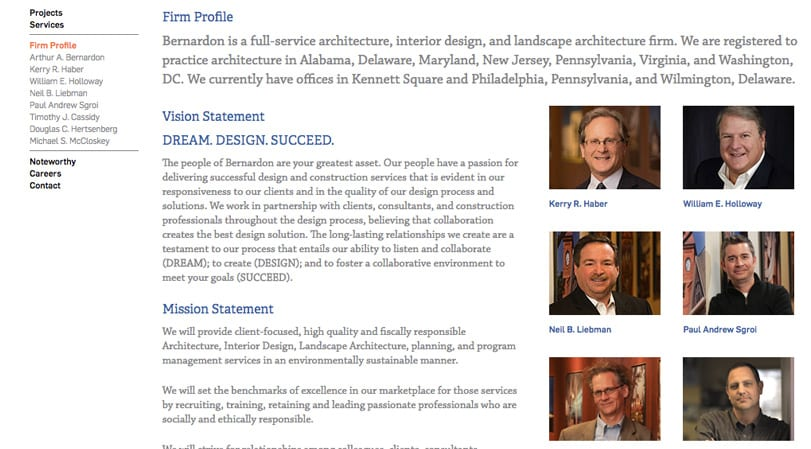 Bernardon Architects Firm Profile Page